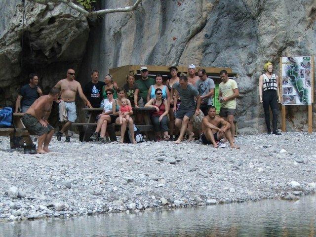 32 Skupinska pred kanjoningom v Kanjonu Göynük