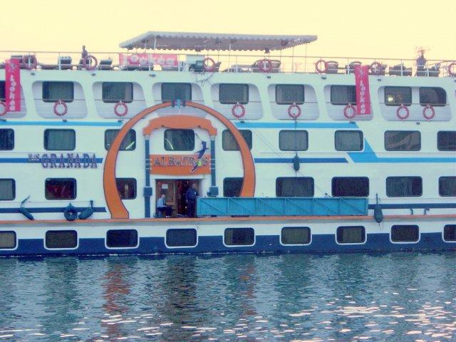 Albatrosova ladja v Egiptu