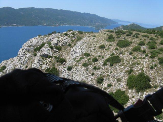 Pogled iz zraka na vzletišče