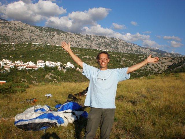 02. Pristanek v Stinici pod Velebitom 2010